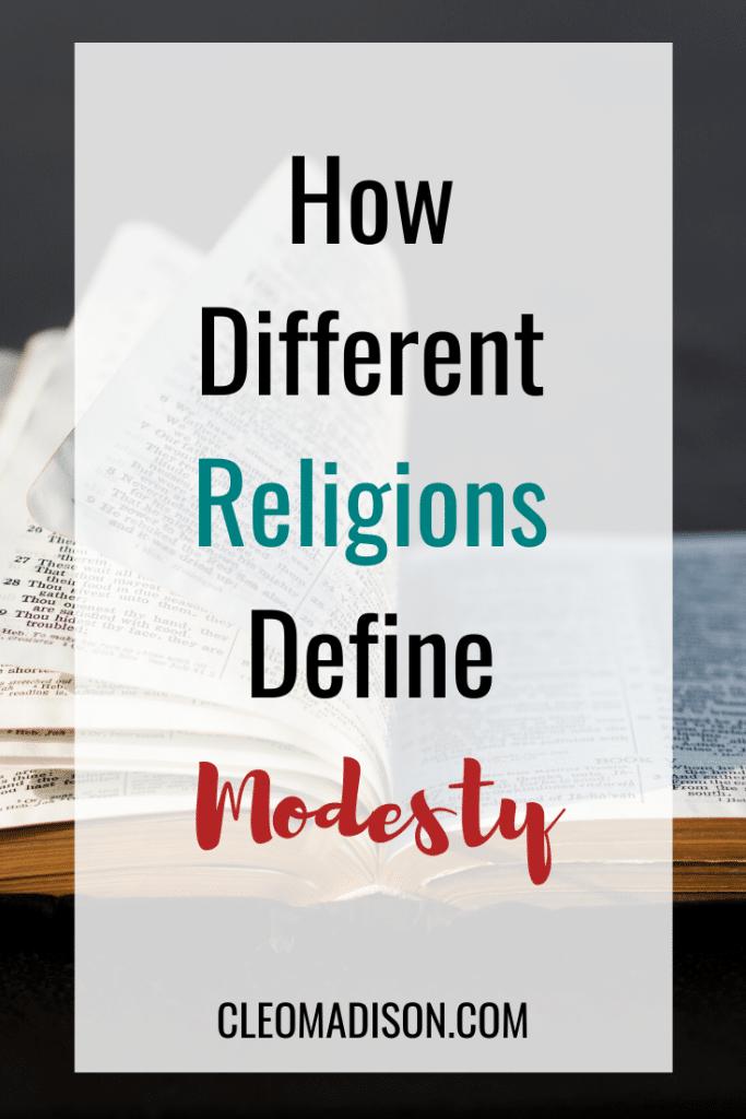 define modesty