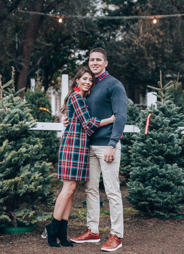 latisha springer's family christmas outfit