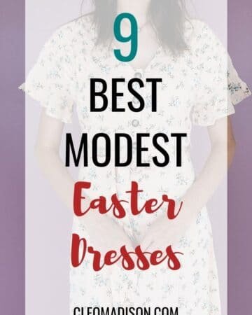 modest easter dresses