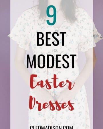modest easter dresses