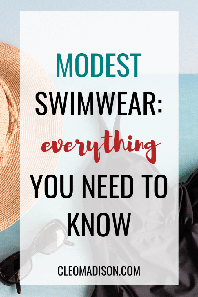 what is modest swimwear