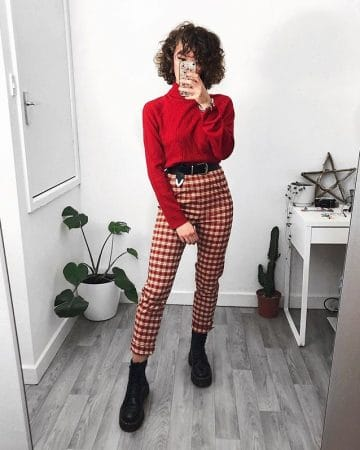 Sophie Seddon's casual Valentine's Day outfit