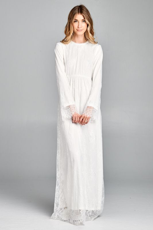 LDS temple dresses from Jen Clothing