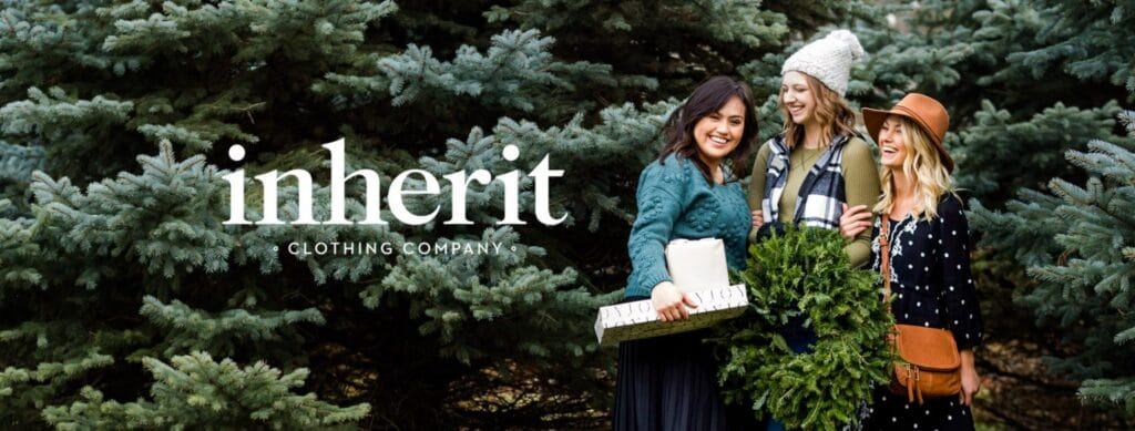 Inherit Clothing Company is a modest clothing website