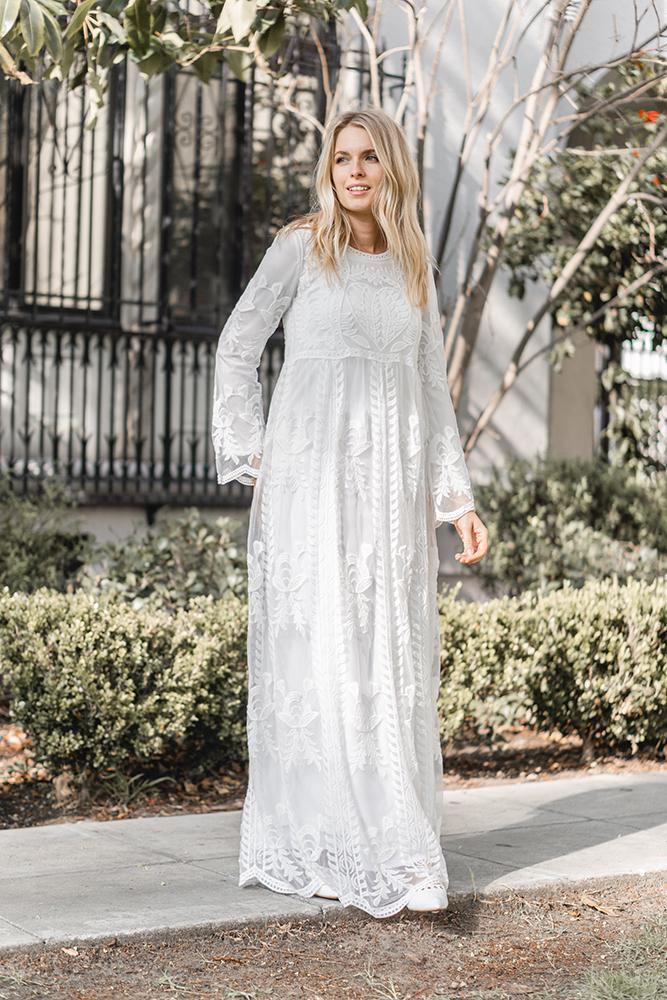 LDS temple dresses from ModWhite