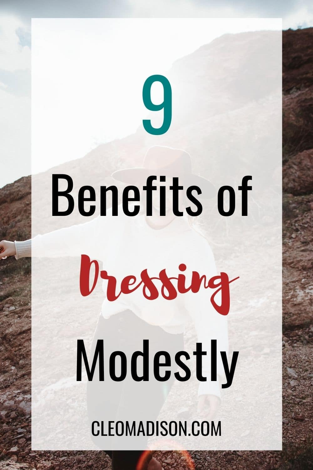 benefits of dressing modestly