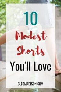 modest shorts
