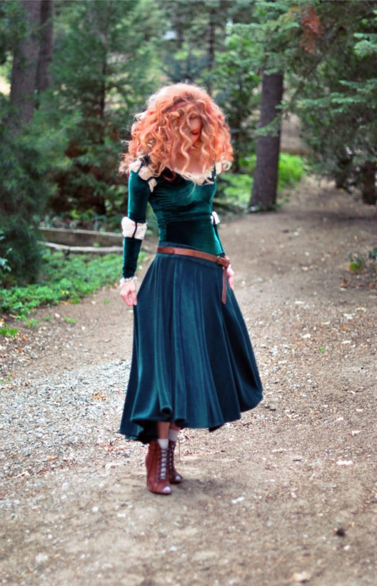 Disney princess Merida costume
