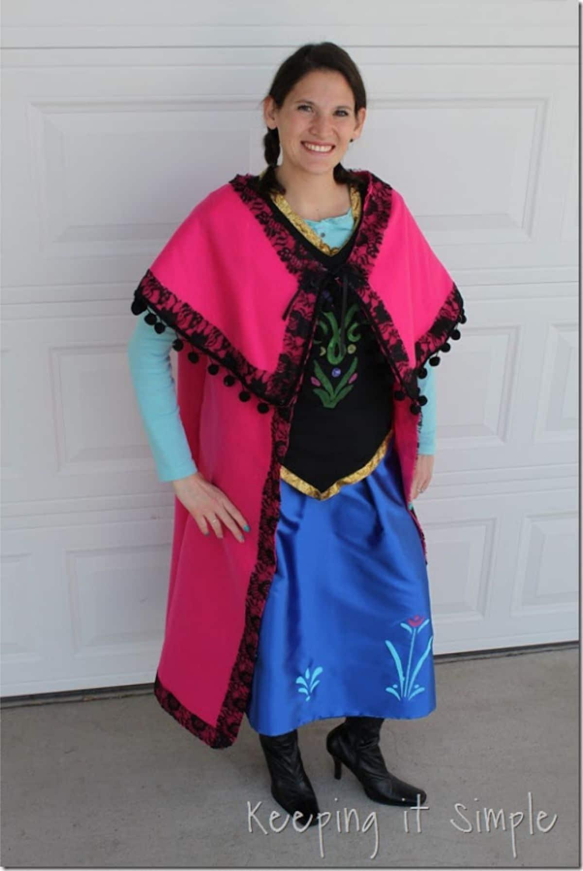 modest anna costume