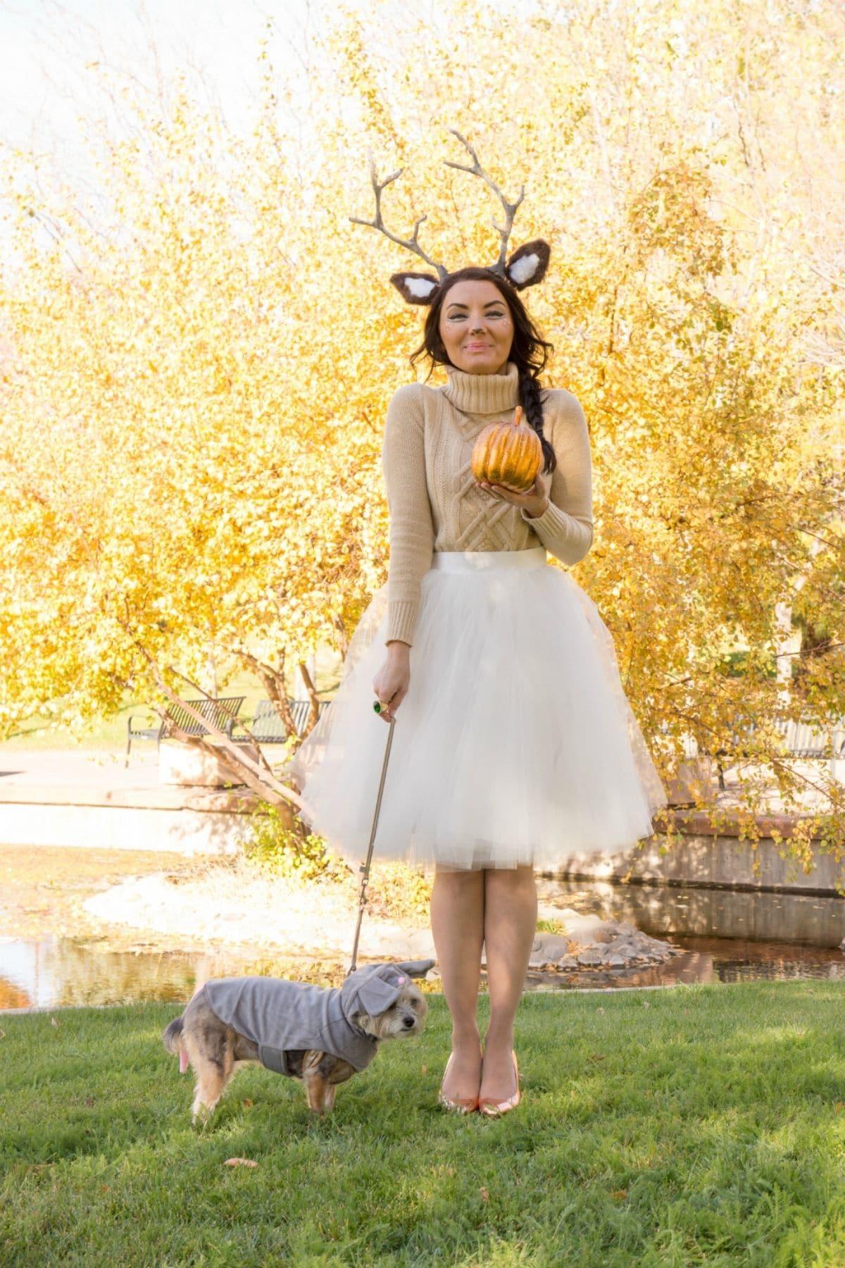modest deer costume