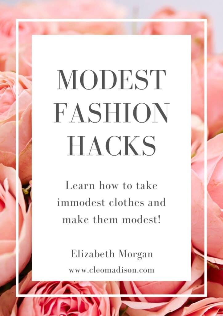 modest fashion hacks ebook