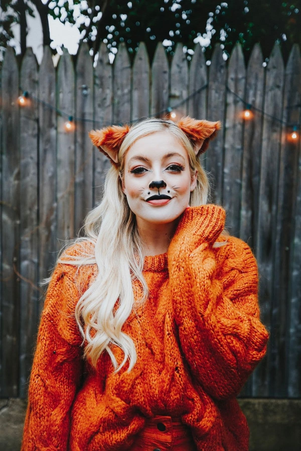 modest fox costume