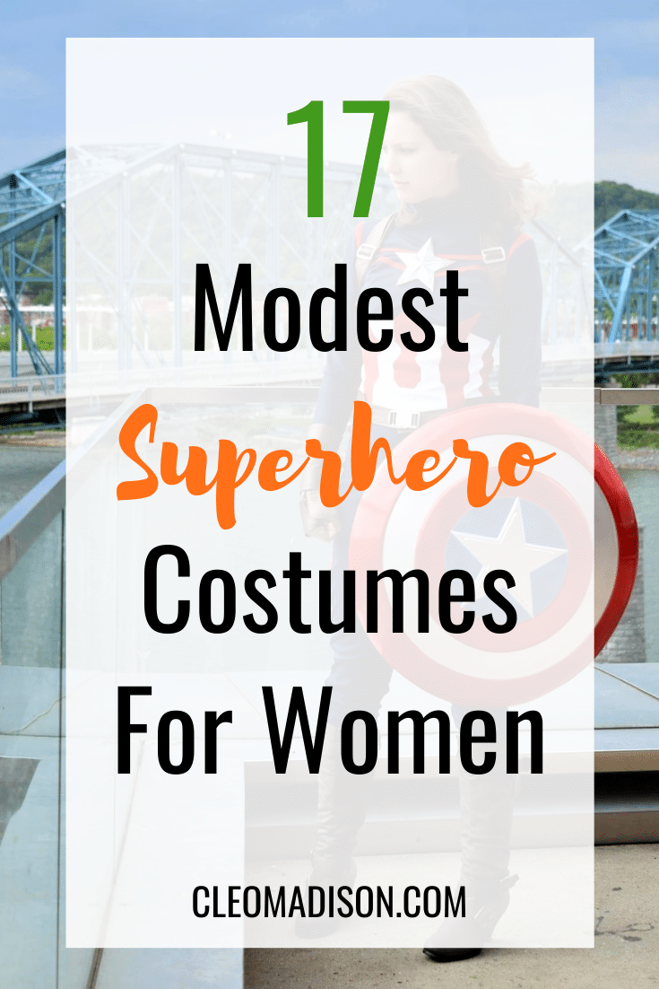 modest superhero costumes