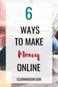 online opportunities to make money