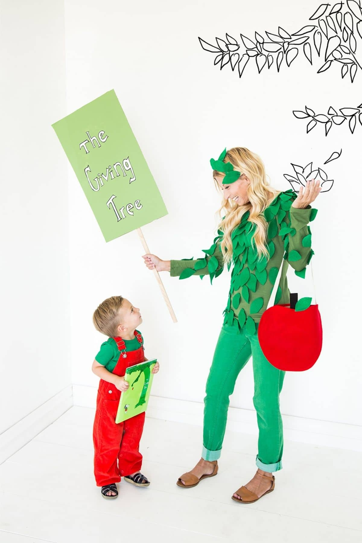 The Giving Tree costumes