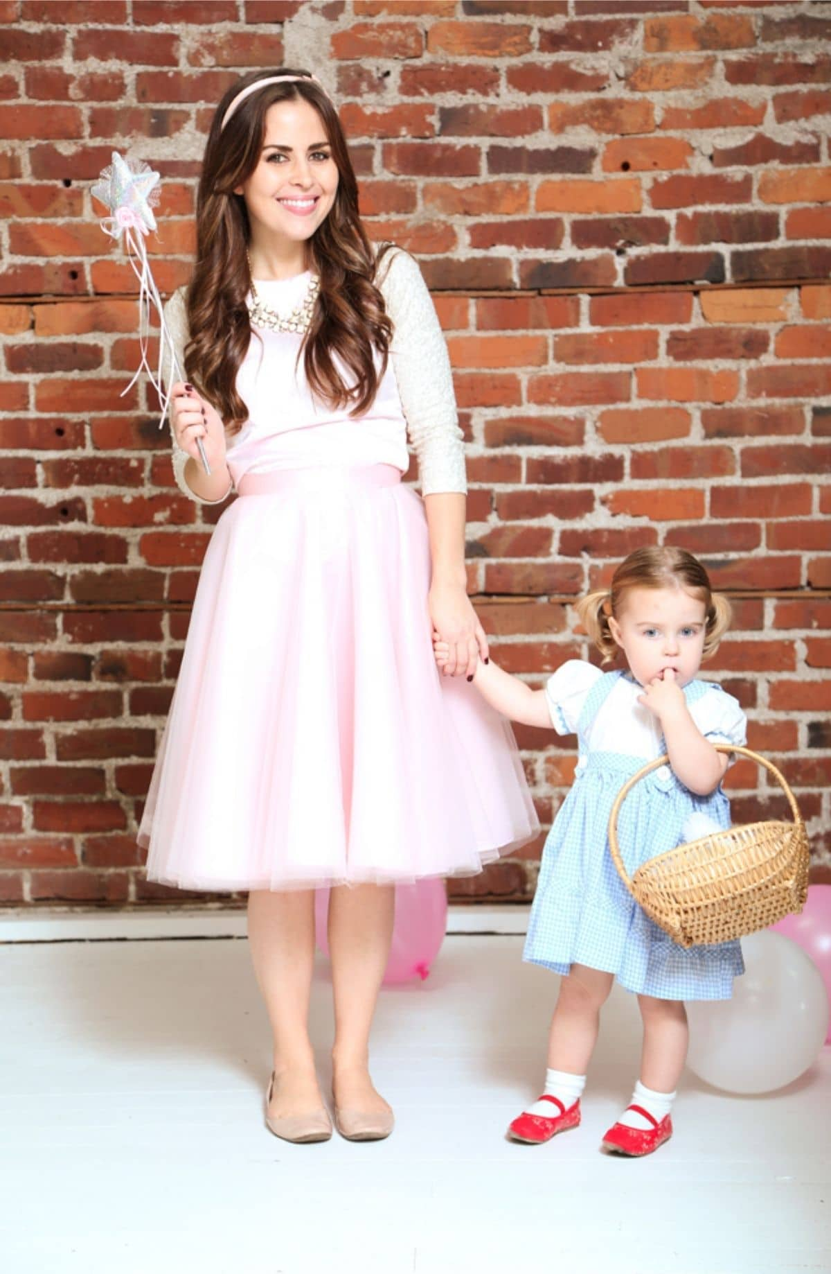 Good Witch and Dorothy costumes