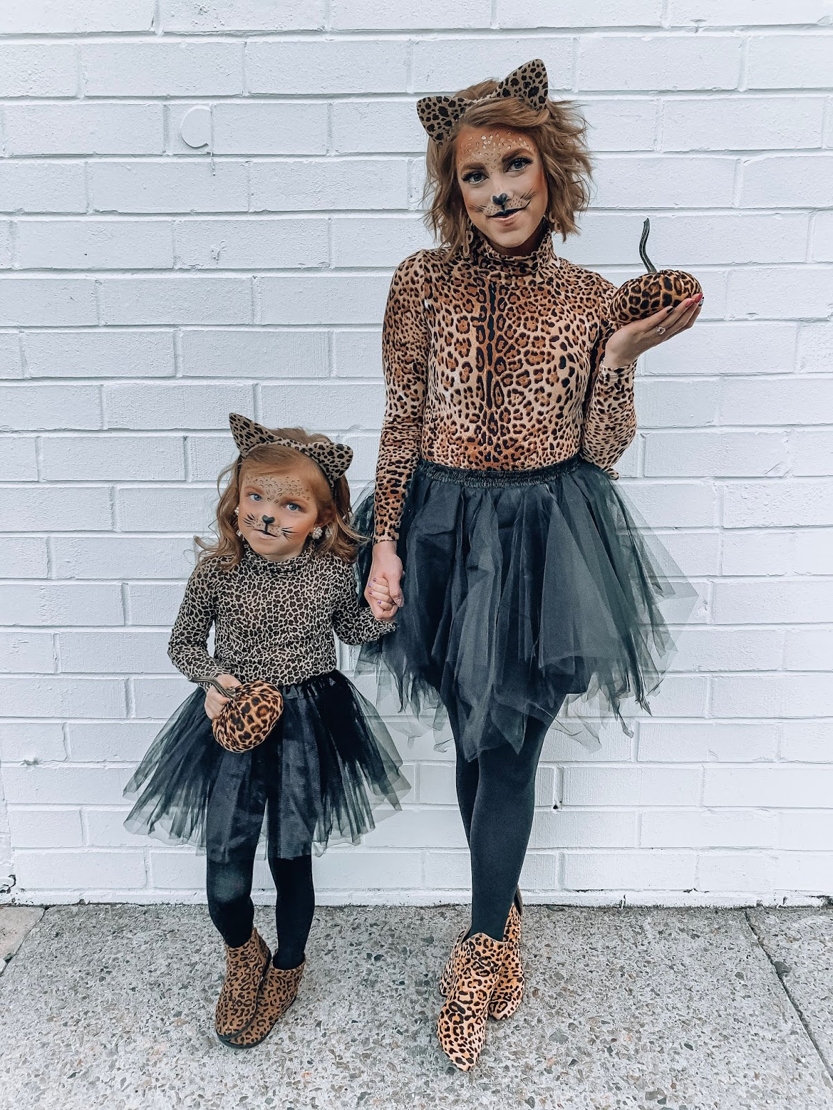mommy and me leopard costumes
