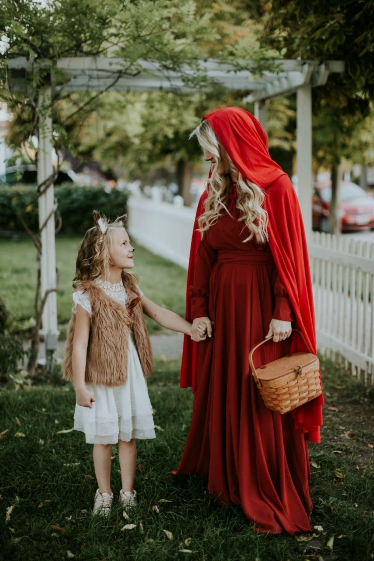 Little Red Riding Hood and Wolf costumes