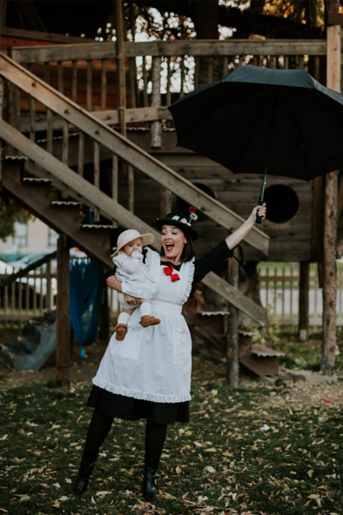 Mary Poppins and Jane costumes