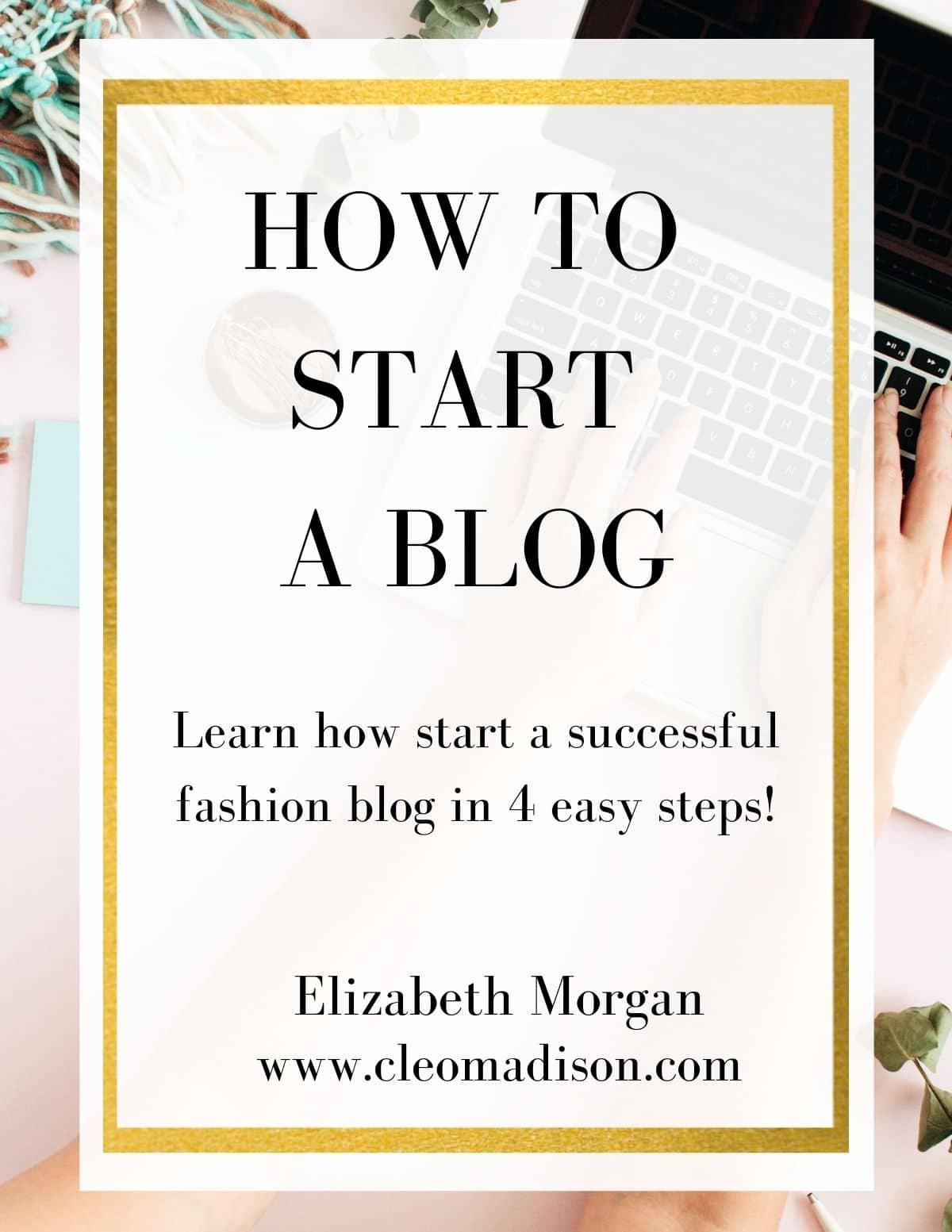 start a blog ebook image