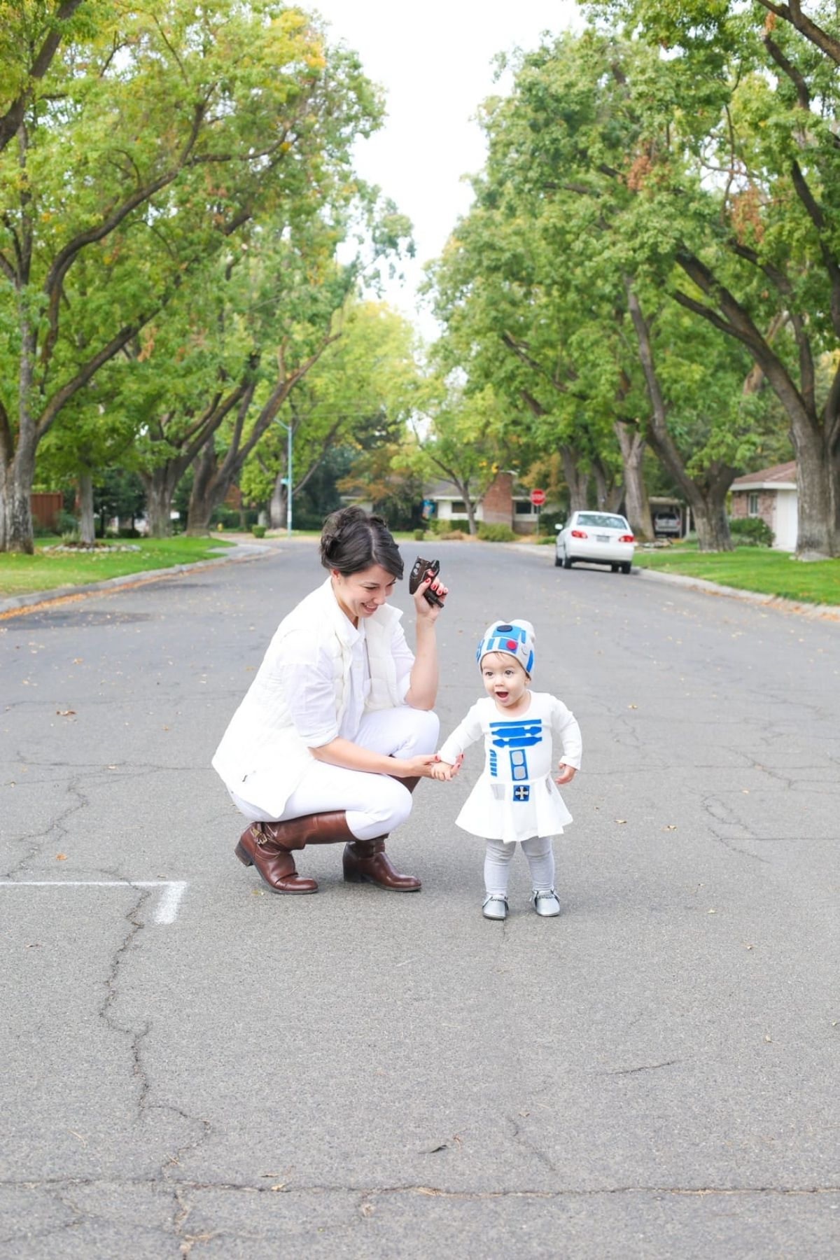 Leia and R2D2 costumes
