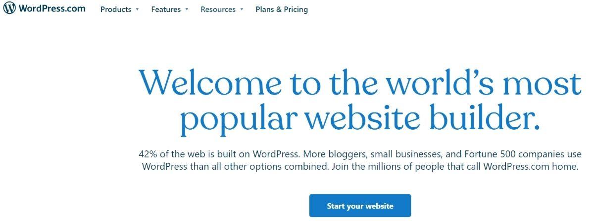 wordpress.com is a free blogging platform